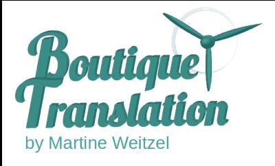 Logo Boutique Translation