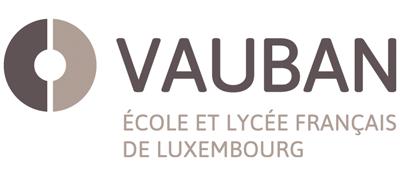 Logo Vauban, Ecole et Lycée Français de Luxembourg