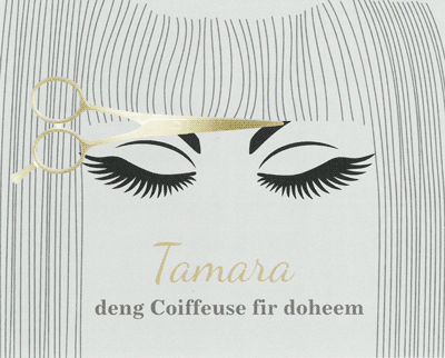 Tamara deng Coiffeuse fir doheem