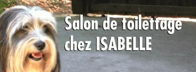 Salon de Toilettage chez Isabelle