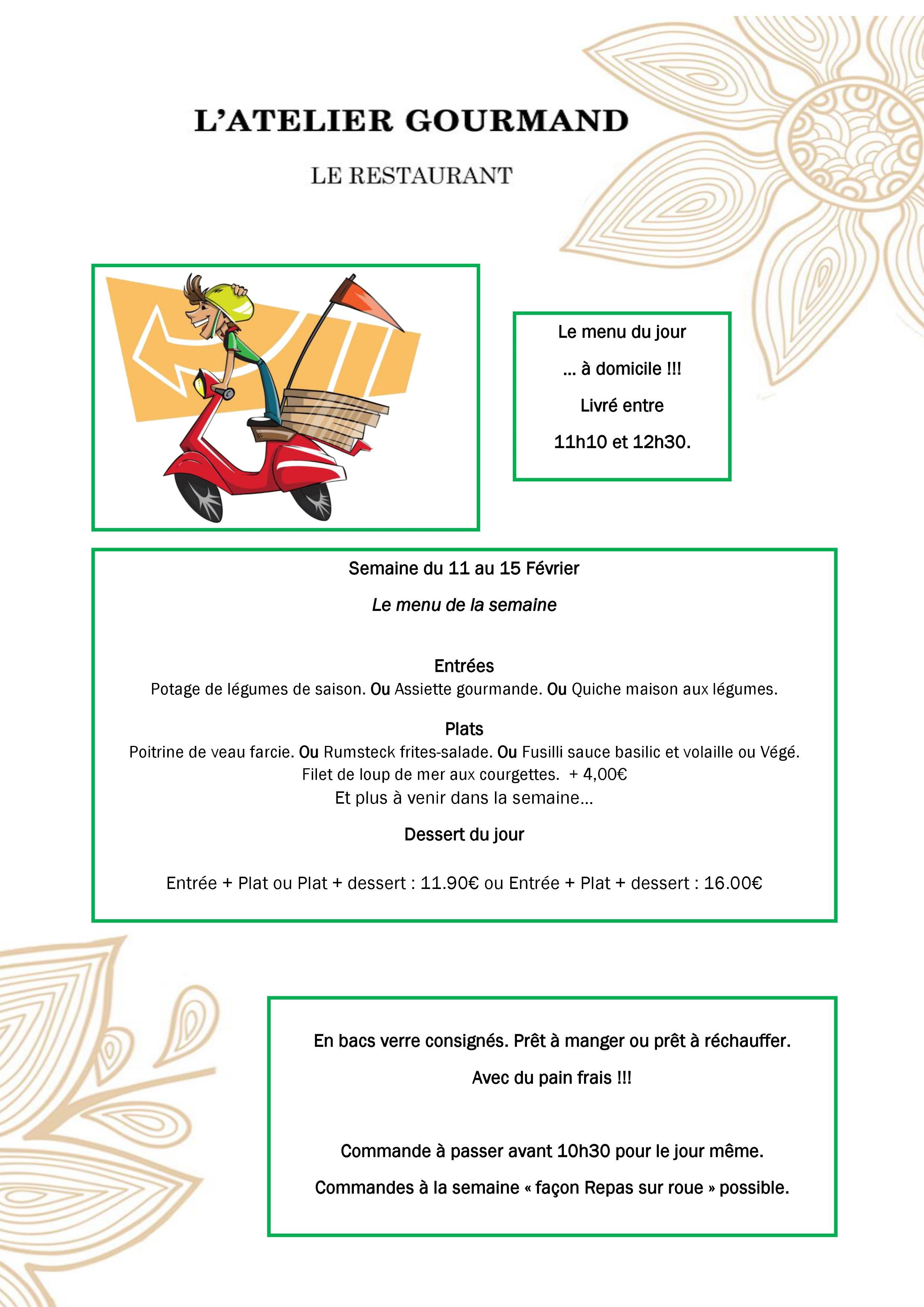 l'atelier sur roue 11 au 15.02.19