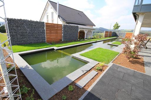 Gartenbau leufgen gmbh weiswampach jardin am nagement for Jardinier paysagiste luxembourg