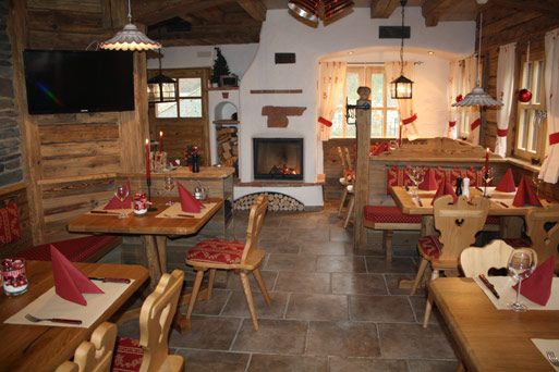 Restaurant Hot-Stone Chalet