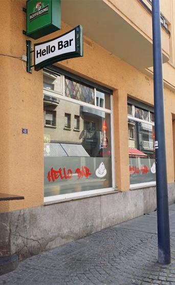 Café Hello Bar