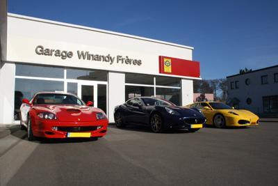 Garage winandy fr res s rl luxembourg autowerkstatt for Garage redhaber sarl cernay