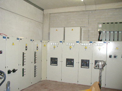 Foto von Power Panels