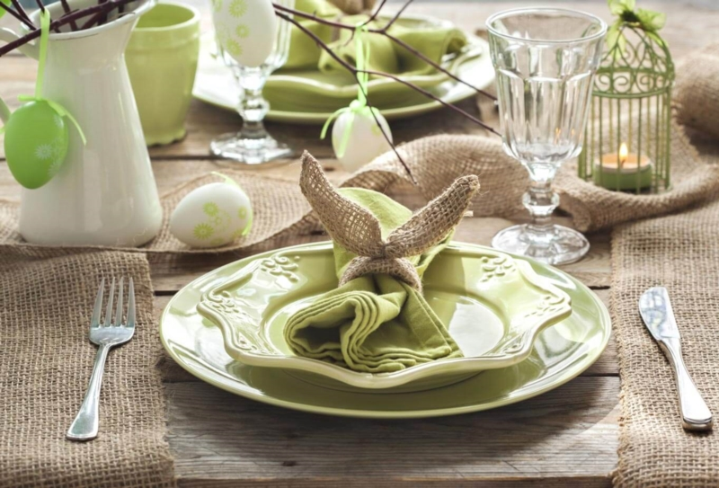 Des astuces créatives pour décorer sa table de Pâques