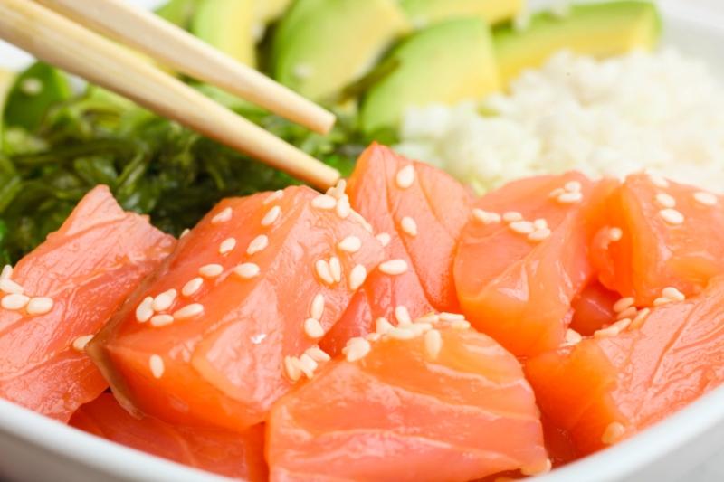 Recette Bowl au saumon