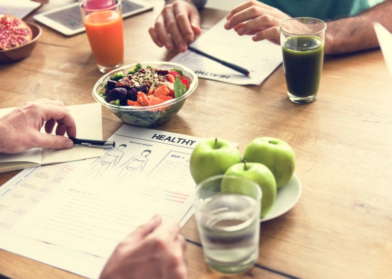 Adapt simple actions for healthy eating