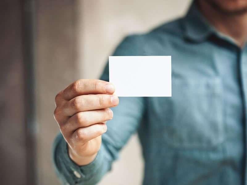 8 Goldene Regeln Für Erfolgreiche Visitenkarten Editus