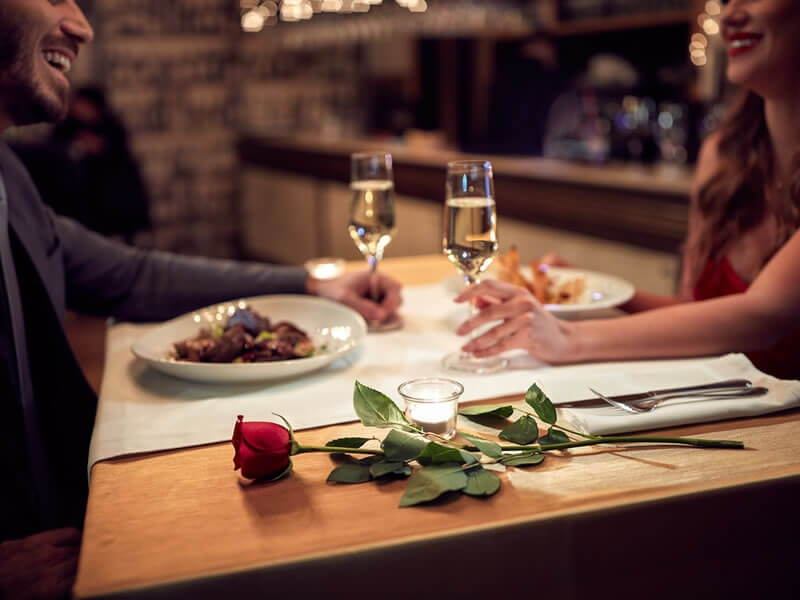 Choose your restaurant for Valentine's Day