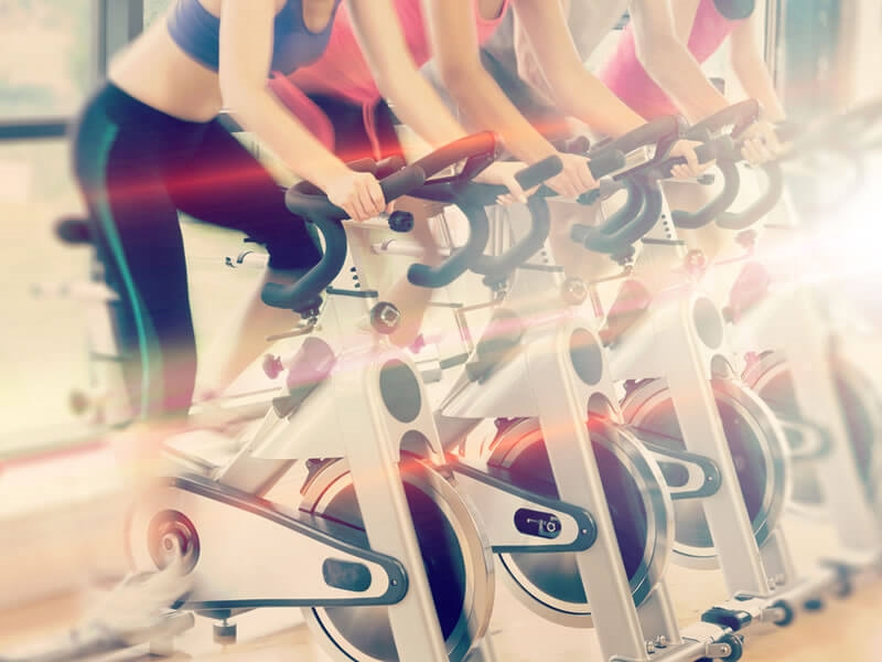 Why is spinning good for your health?