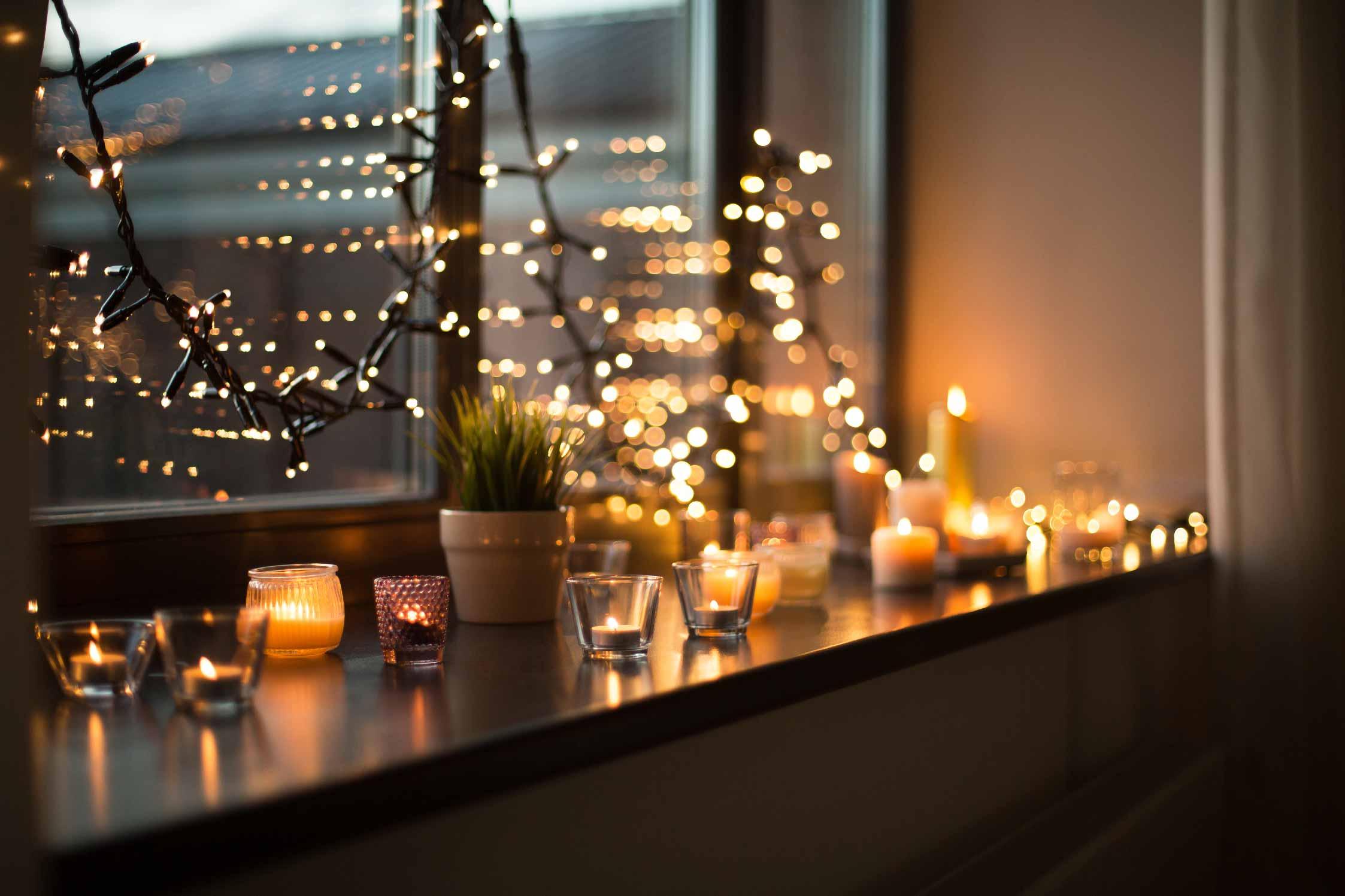 Deco De Table Bougie les bougies, la touche déco indispensable pour l'hiver