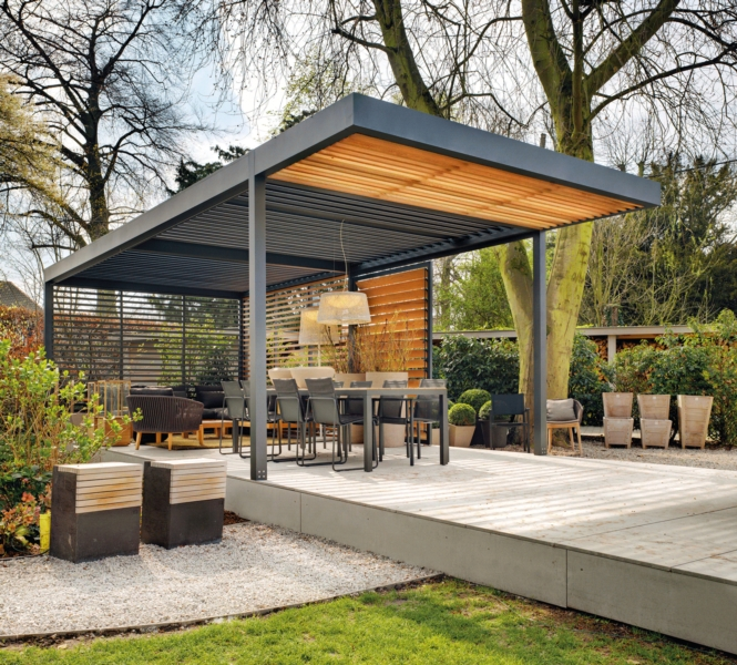 A roof for its terrace