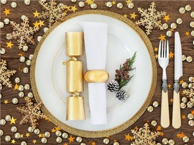 Présentation de table Noel