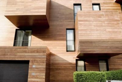 Choose a wooden facade