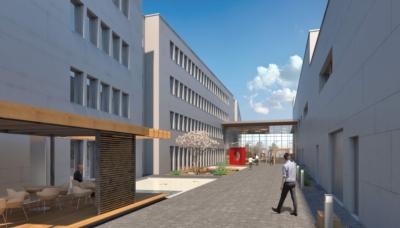 IEE, nouveau bâtiment administratif