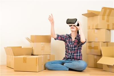 Virtual real estate visit