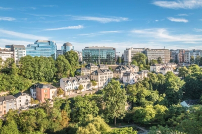 real estate districts Luxembourg-City
