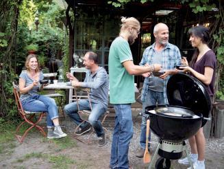 Barbecue convivial