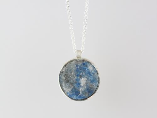 Pendentif en Argent et Lapis Lazuli
