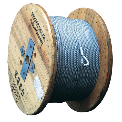 Élingues en câble et Câbles acier