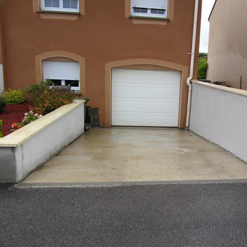 Réalisation d\'une entrée de garage en granit to Luxembourg - Good ...