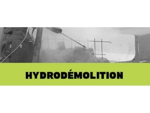 Hydrodémolition