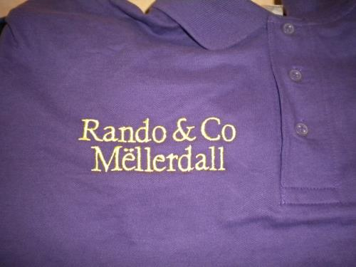Broderie polo