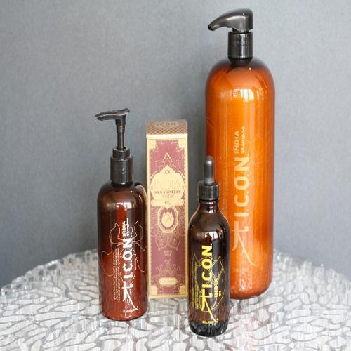 salon de coiffure liliane martone gamme I.C.O.N. India