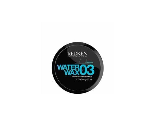 water wax redken