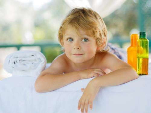 Massage enfant