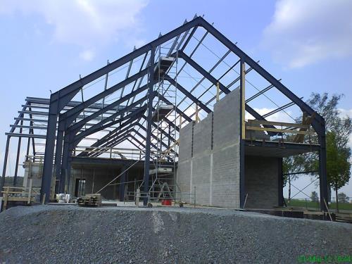 Construction de halls