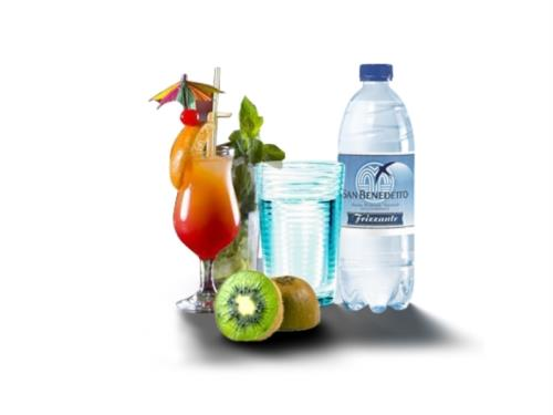 sodas, jus de fruits, eaux, lavazza