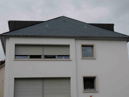 Création de lucarne sur toiture ardoise