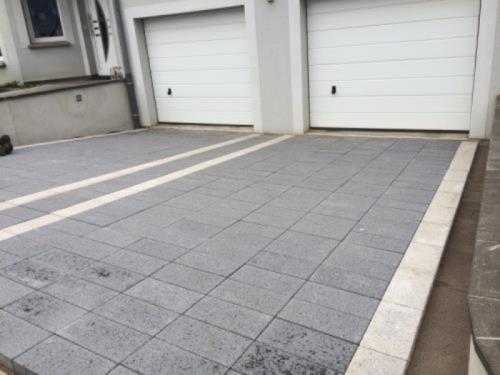 pavé devant garage