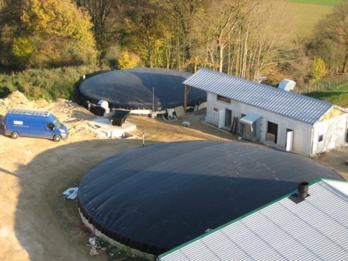 Installations de biogaz