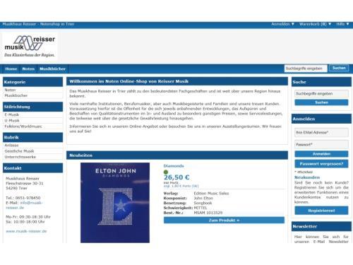 Noten Online-Shop