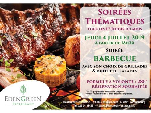 Soirée Barbecue du 4 Juillet