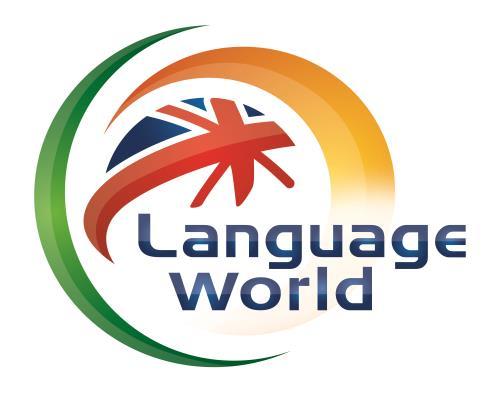 12 langues proposées par English World