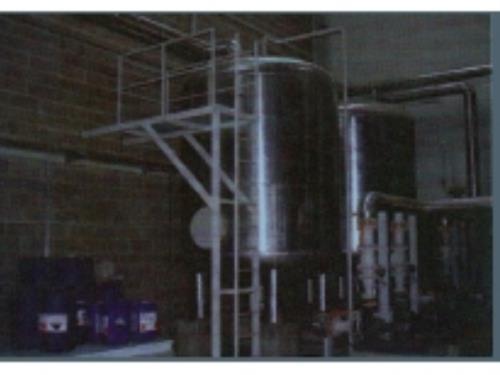 Reservoir chaudière revêtement alluminium