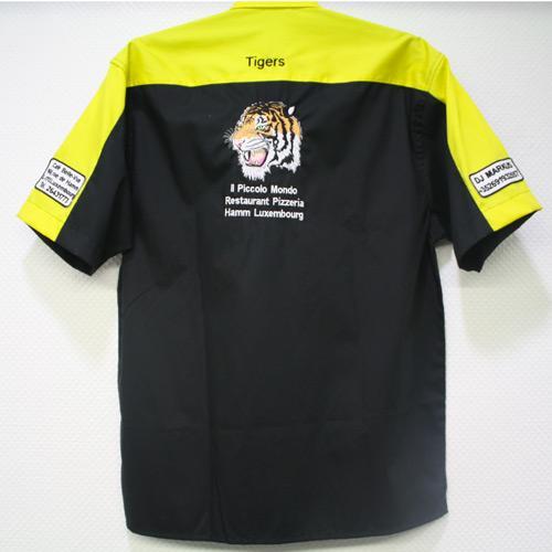 Personnalisation de chemise broderie soccer petange luxembourg