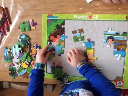 Puzzles, crèche