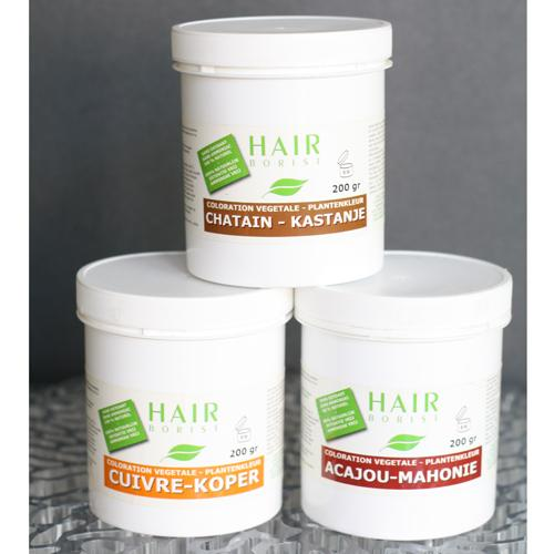salon de coiffure liliane martone gamme Hair Borist 100% végétal