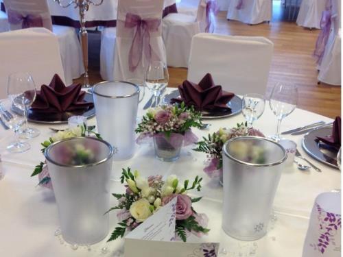 Décoration table de marié