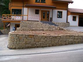 Travaux en pierre