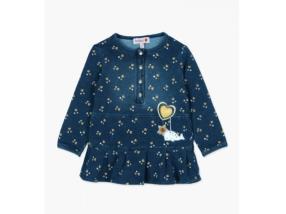 robe en jean pour bébé fille Boboli