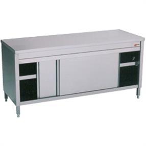Table sur armoires-portes coulissantes
