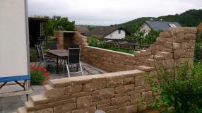 Landhausmauer Santuro sandsteinbeige