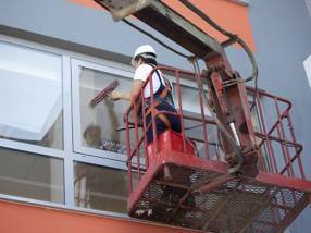 Nettoyage de vitre
